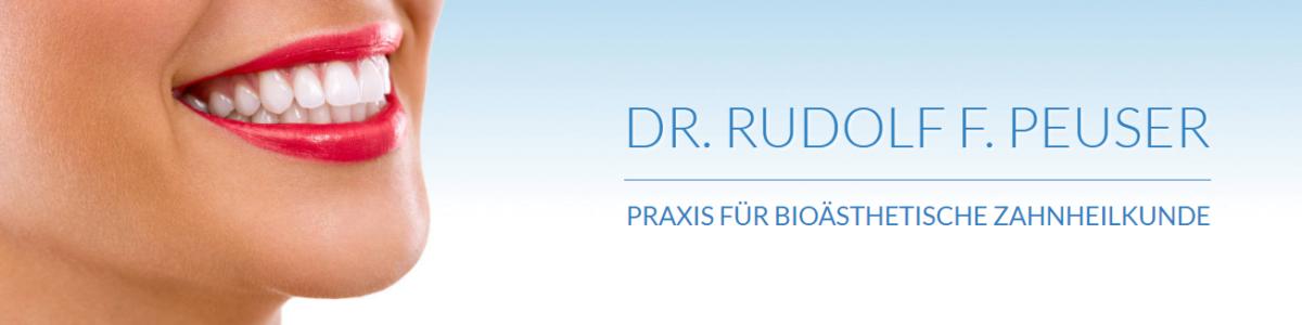 Zahnarztpraxis Dr. Rudolf F. Peuser cover
